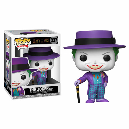 Batman 1989 Movie - Joker with Hat Funko Pop! Figure