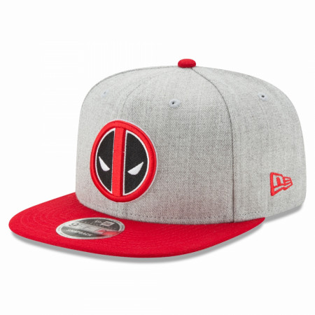 Deadpool Symbol Heather New Era 9Fifty Adjustable Hat