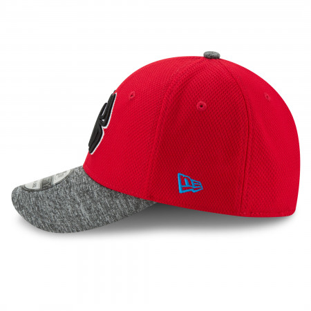Spider-Man Shaded Team Colors New Era 39Thirty Flex Fitted Hat