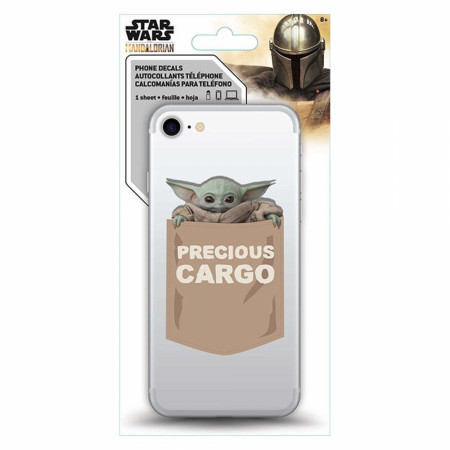 Star Wars The Mandalorian The Child Phone Sticker