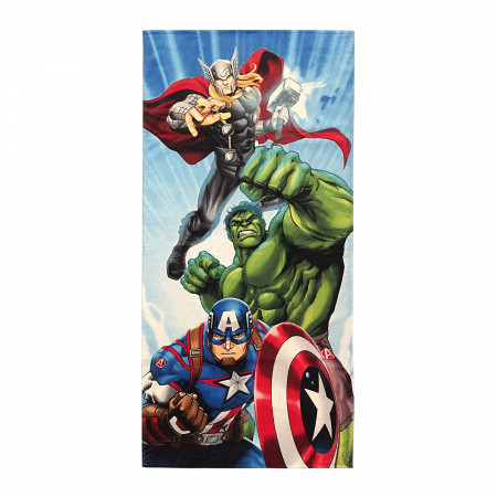 Avengers Assemble Beach Towel