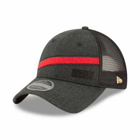 Marvel Brand Heather Brick New Era 9Twenty Adjustable Trucker Hat
