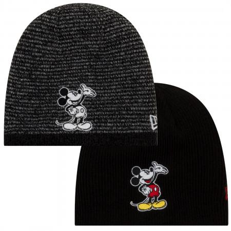 Disney Mickey Mouse Character Reversible New Era Beanie