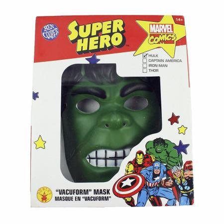 Hulk Vintage Style Ben Cooper Costume Halloween Mask