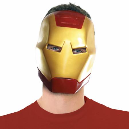 Iron Man Vintage Style Ben Cooper Costume Halloween Mask