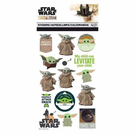 Star Wars The Mandalorian 4-Sheet Sticker Set