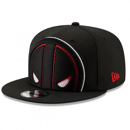 Deadpool Symbol Color Trim New Era 9Fifty Adjustable Hat