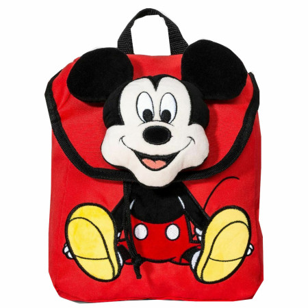 Disney Mickey Mouse & Friends Mickey Mouse Plush Backpack Bag