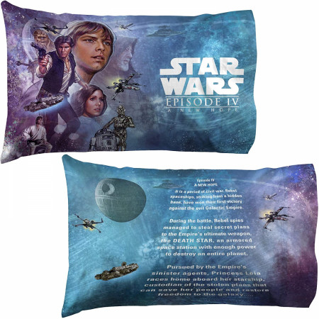 Star Wars A New Hope 2-Pack Pillowcase Set