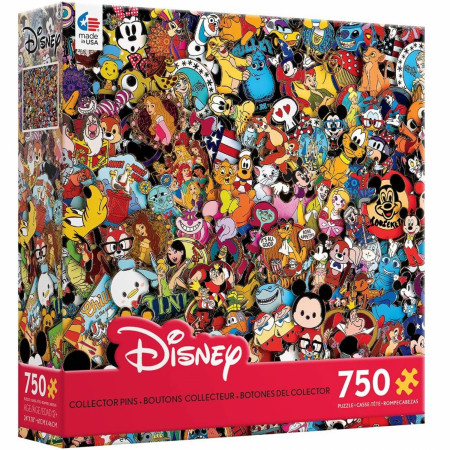 Disney Variety Character Pins 750-Piece Puzzle