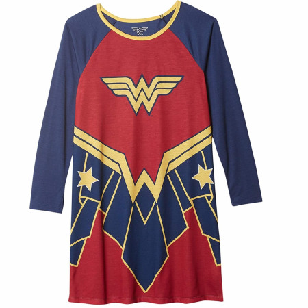 Wonder Woman Girls Sleep Dress