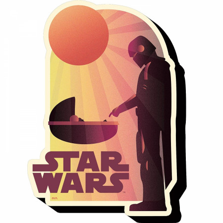 Star Wars The Mandalorian The Child Touch Magnet