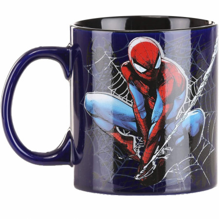 Spider-Man 20 Ounce Jumbo Ceramic Mug