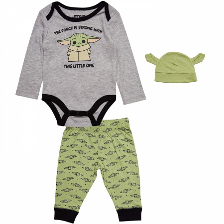 Star Wars The Child 3-Piece Pajama Set with Hat