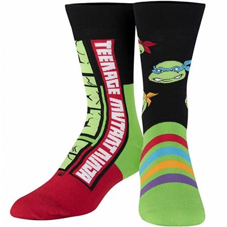 Teenage Mutant Ninja Turtles Colors and Characters Crew Socks