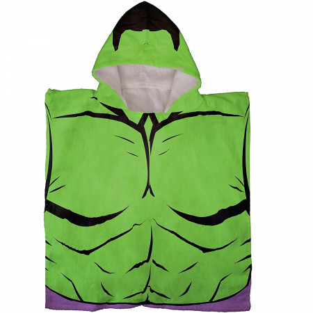 The Incredible Hulk Hooded Poncho Towel