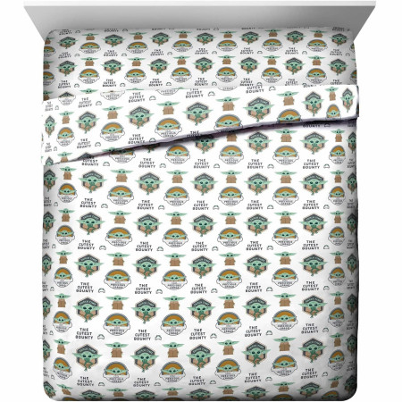 Star Wars The Mandalorian The Child Queen Sheet Set