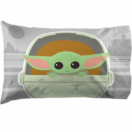Star Wars The Mandalorian The Cutest Bounty Reversible Pillowcase