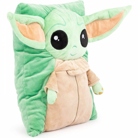 Star Wars The Mandalorian The Child Grogu 3D Snuggle Pillow