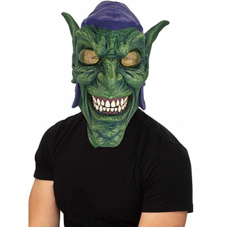 Green Goblin Latex Adult Costume Mask