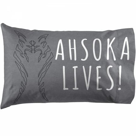 Star Wars Clone Wars Ahsoka Lives Pillowcase