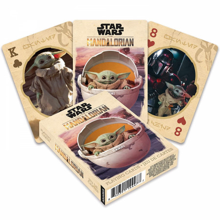 Star Wars The Mandalorian the Child Themed Playing Cards