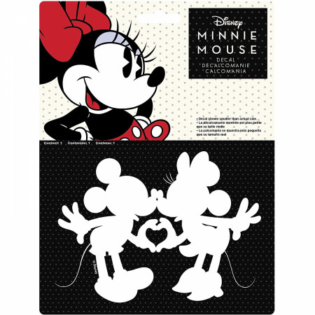 Disney Mickey And Minnie Mouse Die Cut Decal