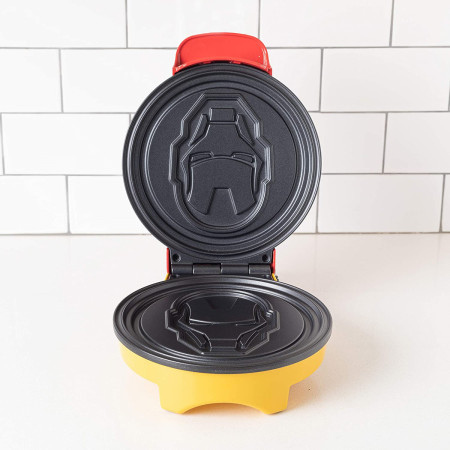 Marvel Iron Man Helmet Waffle Maker from Uncanny Brands