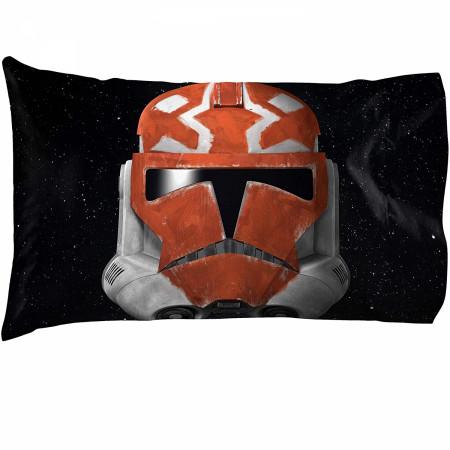 Star Wars Clone Wars Ahsoka Clone Trooper Pillowcase
