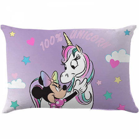 Disney Minnie Mouse Character 100% Unicorn Decorative Pillow