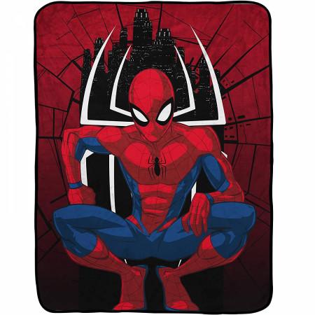 Spider-Man Marvel Baby Throw Blanket