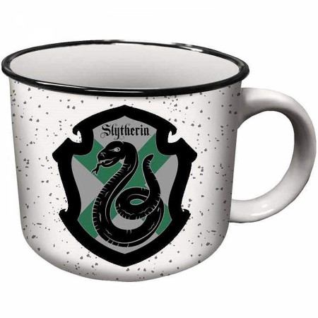 Harry Potter Slytherin House Crest Ceramic Camper Mug