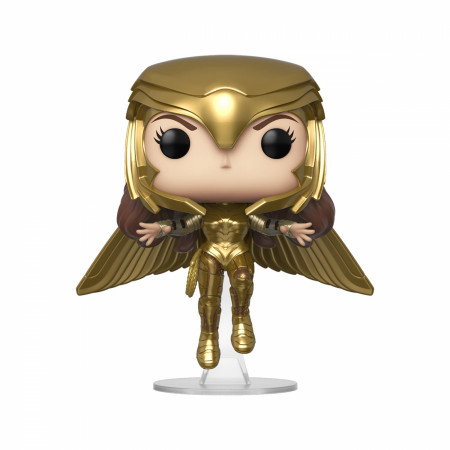 Wonder Woman 1984 Gold Flying (Metallic) Funko Pop!