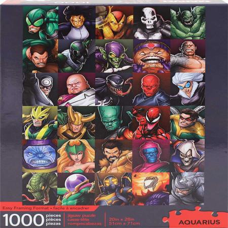 Marvel Villains Collage 1000 Piece Jigsaw Puzzle