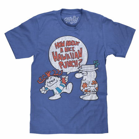Hawaiian Punch Blue T-Shirt