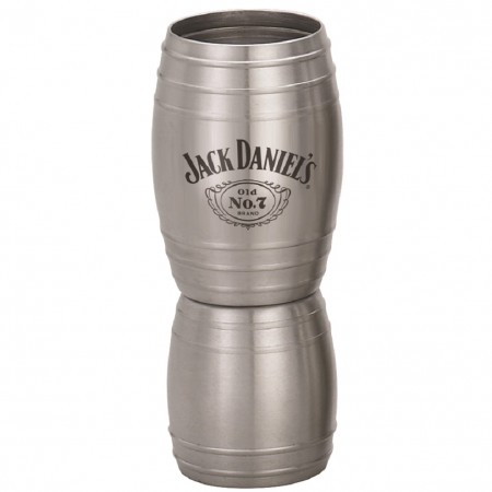 Jack Daniels Metal Double Barrel Jigger
