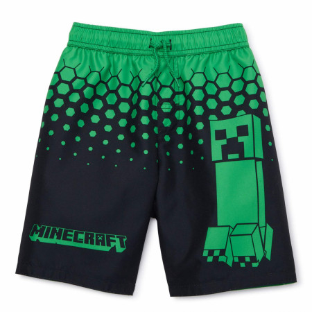 Minecraft Youth Swim Trunks