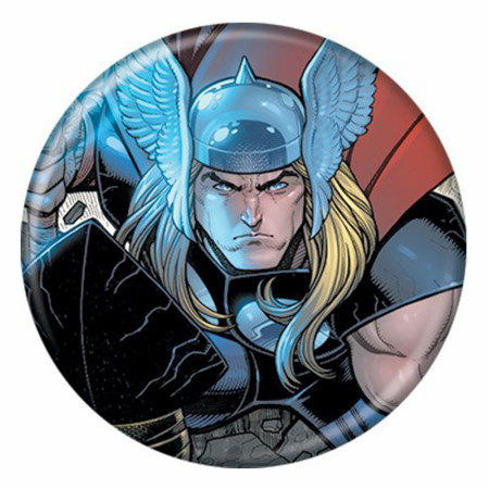 Marvel Comic Thor #1 Up Close Button