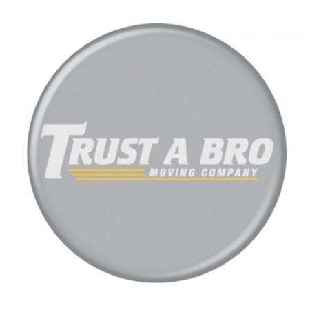 Marvel Studios Hawkeye Series Trust a Bro Moving Company Button