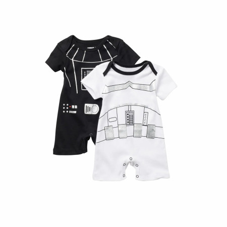 Star Wars Darth Vader & Stormtrooper Suit 2-Pack Romper Set