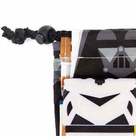 Star Wars Character Line Up Drawstring Laundry Bag