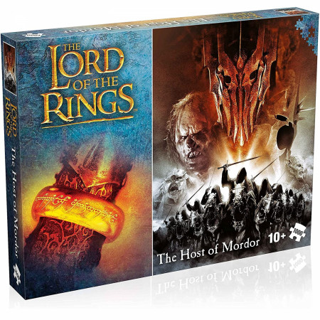 Lord of the Rings The Host of Mordor 1000 Piece Jigsaw Puzzle