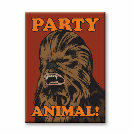 Chewbacca Party Animal Magnet