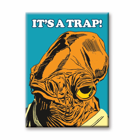 Admiral Ackbar It's A Trap! Magnet