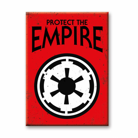 Star Wars Protect The Empire Magnet