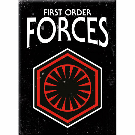 Star Wars First Order Magnet