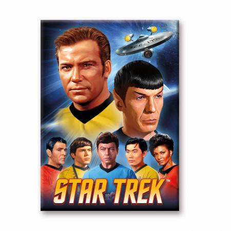 Star Trek Original Group Magnet