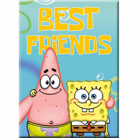 SpongeBob SquarePants Best Friends Magnet