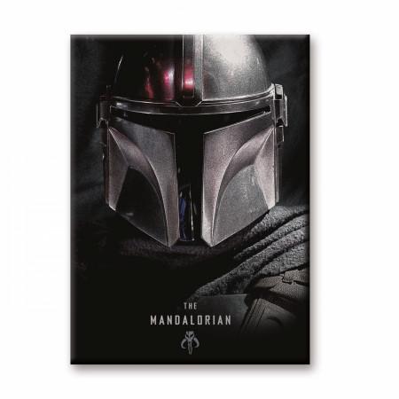 Star Wars The Mandalorian Character Helmet Magnet