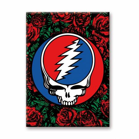 Grateful Dead Roses Logo Magnet